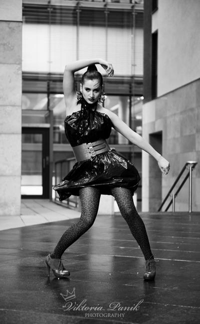 Female model photo shoot of Marina Violin by Viktoria Panik, hair styled by Nat-Nat, makeup by Natasha Shahova