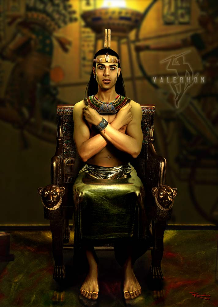 Before he is Pharaoh, The Prince sits on his fathers throne and dreams of glory. Dec 07, 2009 2009 by Valerhon. Reference photography by Noire3000 Prince Rameses
