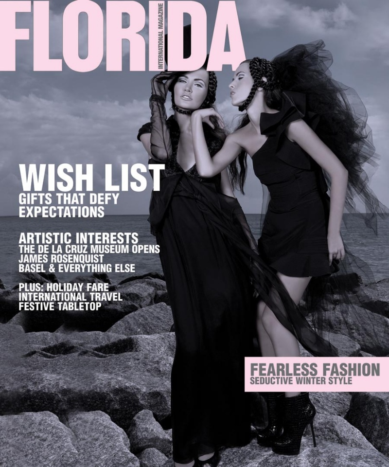 Miami beach Dec 07, 2009 Natasha Kertes Florida Internotional Magazine   I did makeup.