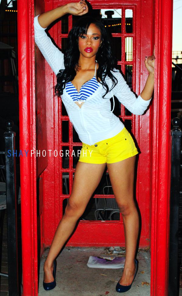 Female model photo shoot of SHAYTHENIKONQUEEN and Tanisha Tiffany White