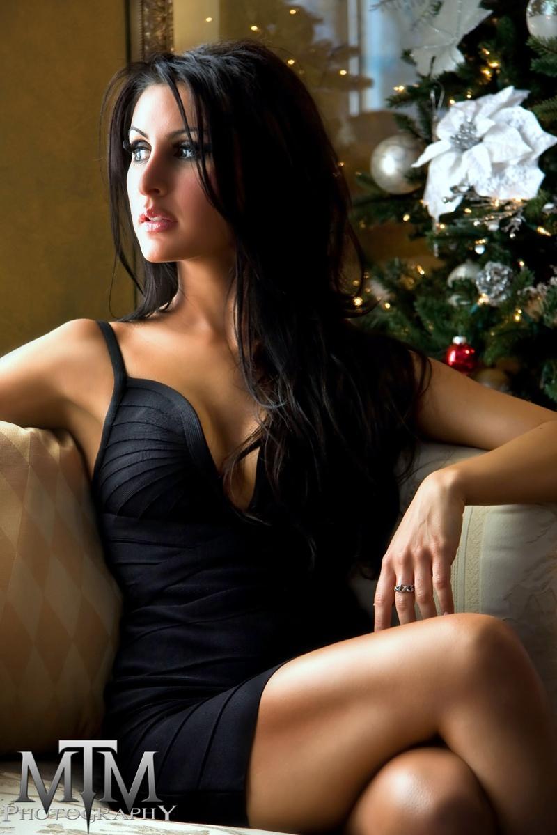 Boston MA Dec 07, 2009 MTM Photography Ashley - A Christmas Beauty