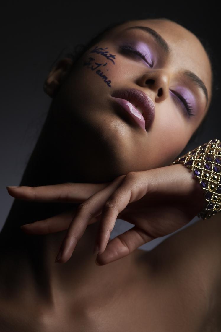 Her Burbank Studio Dec 08, 2009 Photographer-Bonnie Holland Purple Series