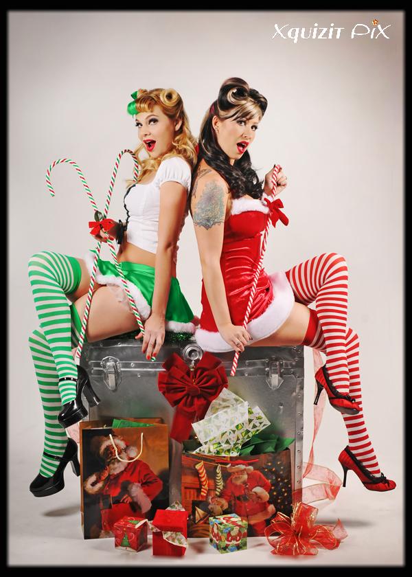 Xquizit PiX Studio Dec 08, 2009 Xquizit PiX- By Lillie Kleemeyer Santas Elf and Mistress
