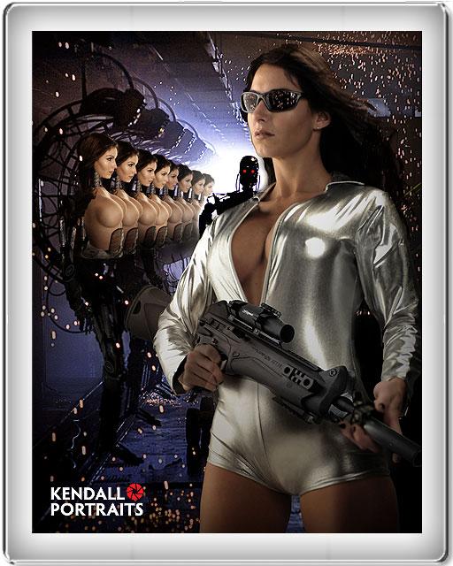Kendall Portraits Dec 09, 2009 Alex Mandressi Terminator