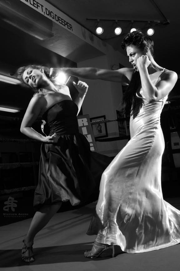 PB Boxing Gym Dec 11, 2009 Stephen Akers Photography Fashion fight club - Shazam!
