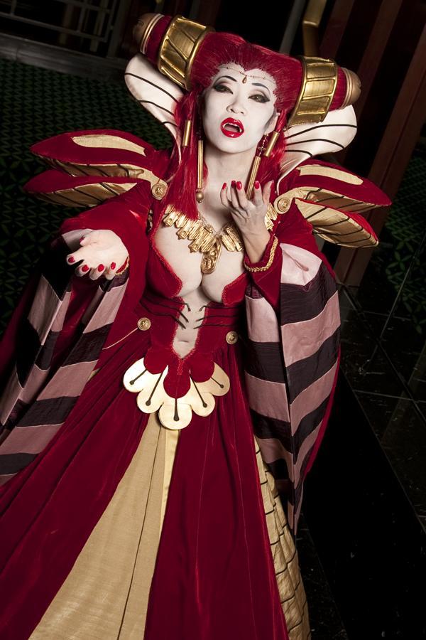 Arlington, VA Dec 11, 2009 Anna Fisher: Photo Yaya Han: Makeup and costume made by Bloodlust
