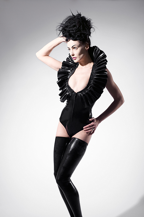 Dec 11, 2009 Body suit http://www.kaorislatexdreams.com/shop/ruffled-bodysuit/