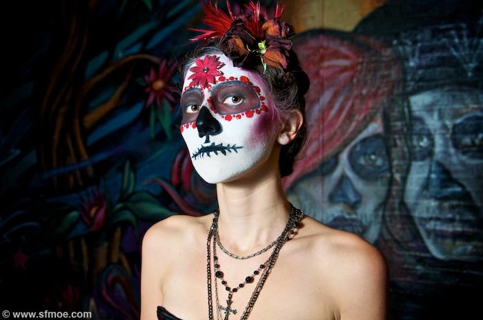 Chicago, IL Dec 11, 2009 Moe Martinez Dia de los Muertos