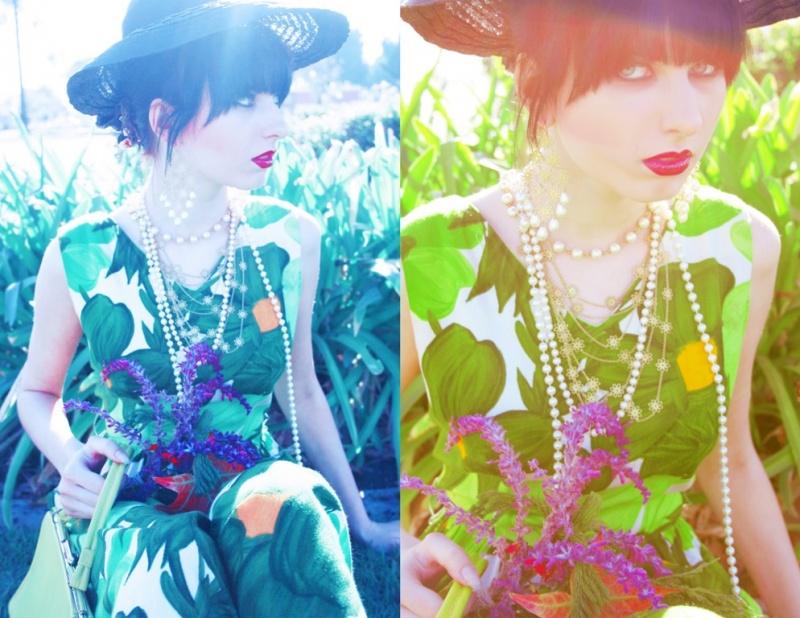 Female model photo shoot of Rana X and Anya Krivenko by Vasty Ram, wardrobe styled by Rana X, makeup by OOOOO