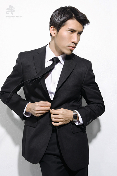 Male model photo shoot of Tom Hsiao, makeup by Beautiful Makeup_Hair