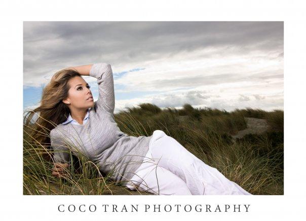 ocean beach, sf Dec 14, 2009 coco tran freezing!!