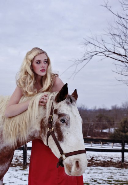 Lovettsville, VA Dec 15, 2009 Evoking Photography Equestrian Shoot