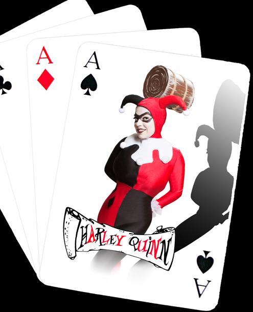 Dec 15, 2009 Neither Noir  [art direction Del] H/MU drop dead gorgeous  Harley Quinn