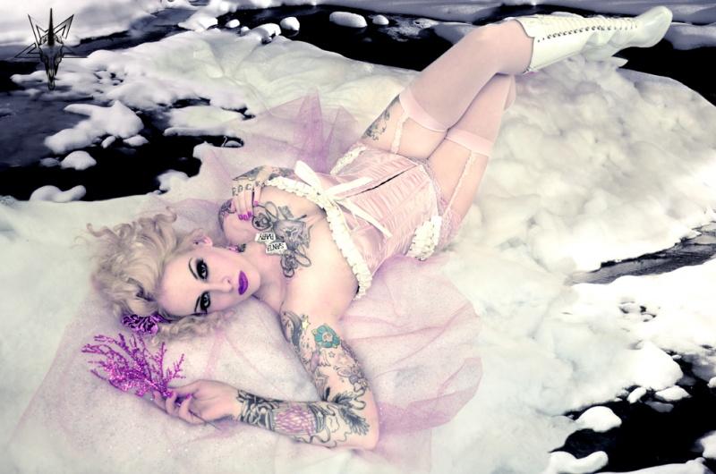 Winter Wonderland Dec 15, 2009 © 2009 Dark Unicorn Photography Winter Goddess