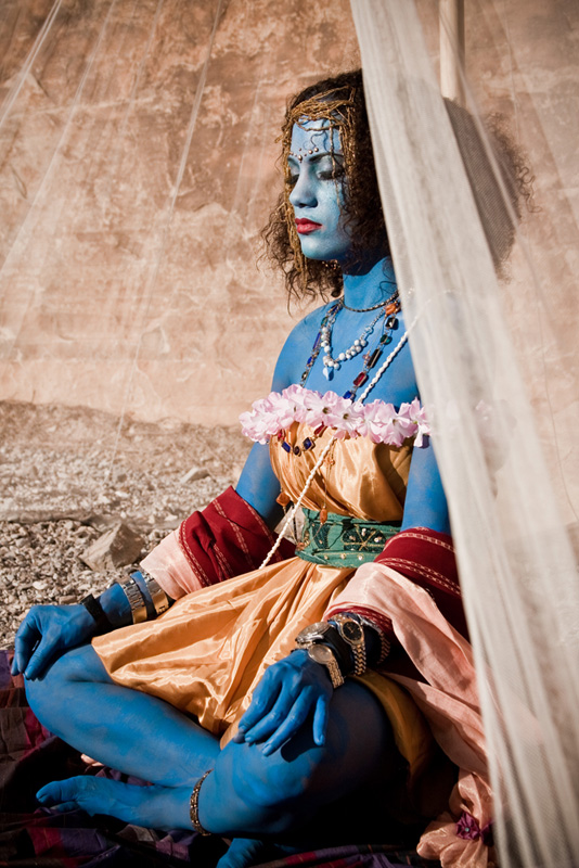 Dec 16, 2009 Kali - the goddess of time and destruction / on the set of The Path