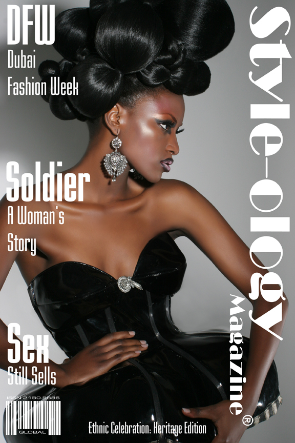 Brooklyn, NYC  Dec 17, 2009 November  2009 Style-ology Magazine Cover January 2010 Issue!!!