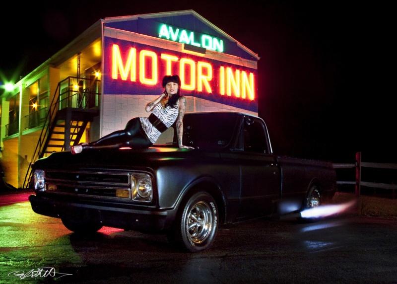 Female model photo shoot of Cayla Elliott and antietam in Avalon Motel