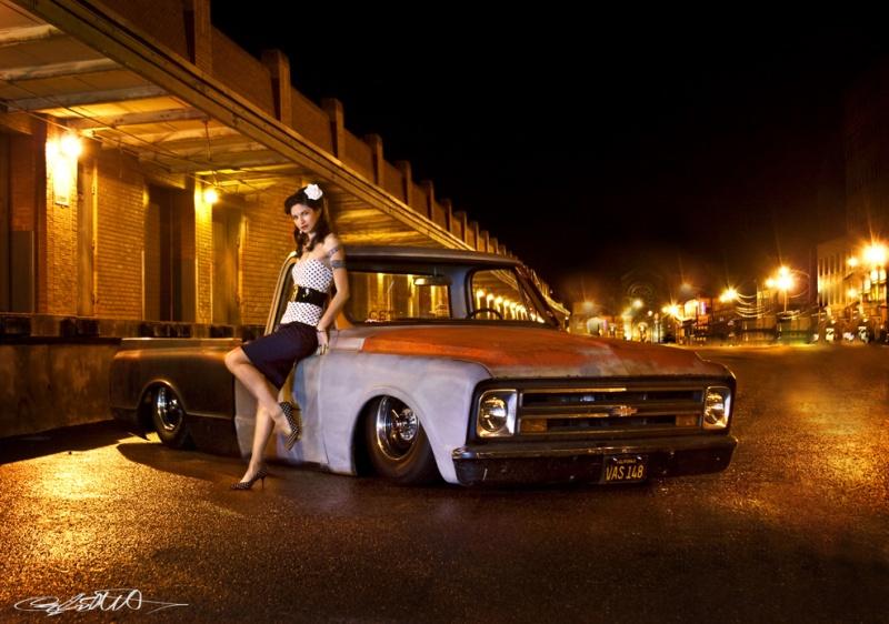 Female model photo shoot of Cayla Elliott and Laura Alexandravna in Strip