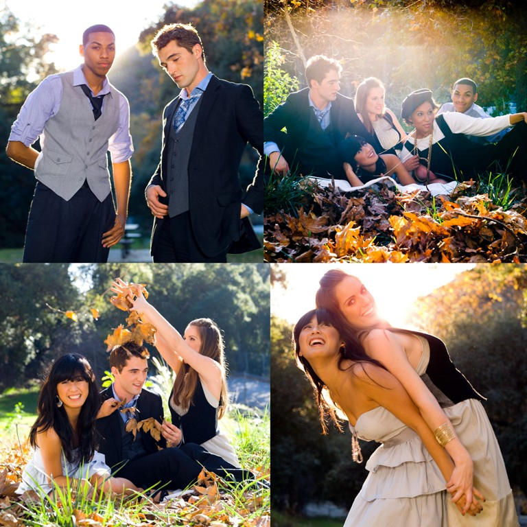 Female and Male model photo shoot of Rana X, tiger 28, Cameron Anthony, Falene Nurse, Kristen Vid and Elizabeth Trieu by BENMILLER in Wildcat park  (Falene knows what I mean) , retouched by VNDimages, wardrobe styled by Rana X