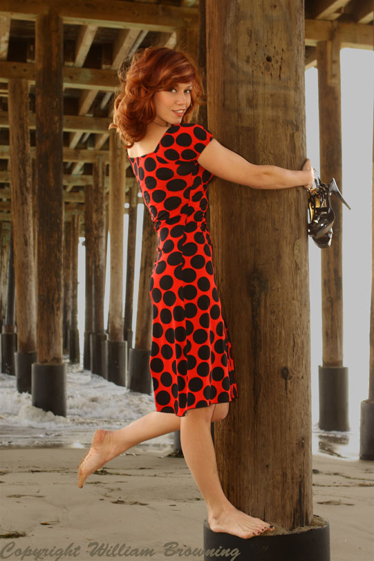 Male and Female model photo shoot of William Browning and Gina Drake in Ventura