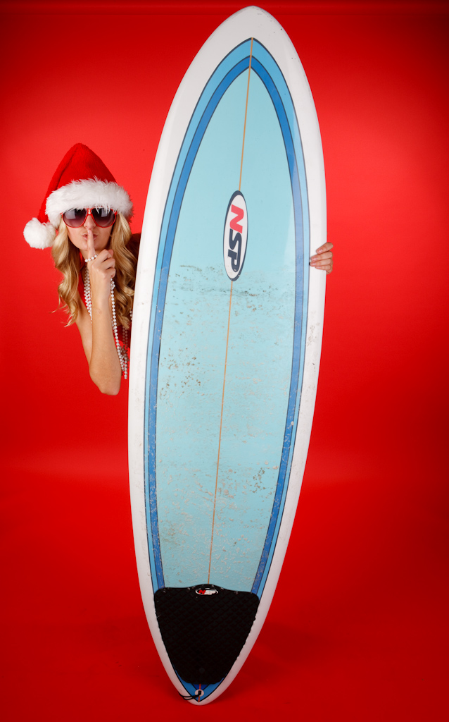 Dwight McCann Digital Imagery Studio Dec 19, 2009 2009 Dwight McCann Dont Tell Santa Im Out on the Waves!