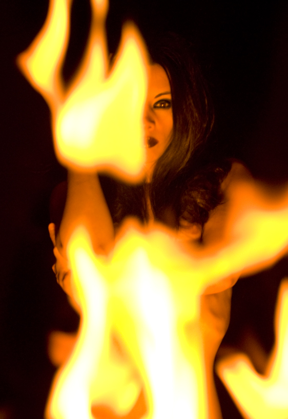LAS VEGAS, NV Dec 20, 2009 Jon Bickford Playing with fire.