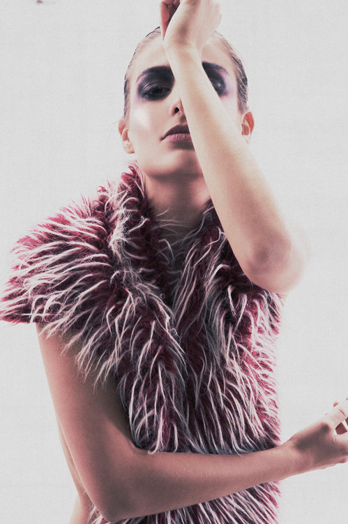 Female model photo shoot of Lieneke in Holland