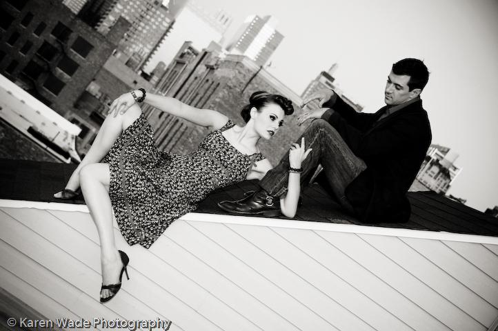 chicago Dec 20, 2009 karen wade mua: ladwina holmes, hs: yeefah, designer: gypsy love, model: kevin
