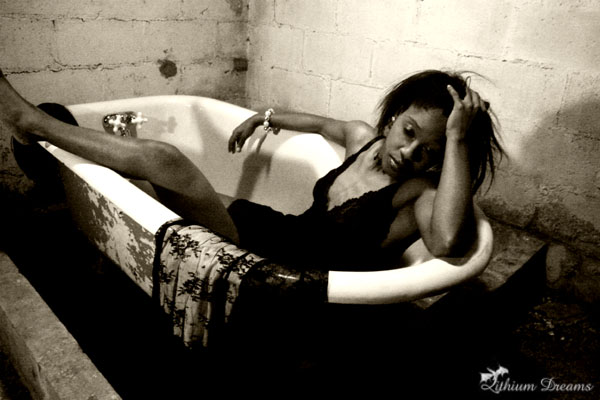 Female model photo shoot of Nya Fiya by LithiumDreams Photo in atlanta, ga