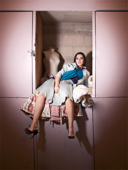 Female model photo shoot of Erin Gotwals Designs by RASM