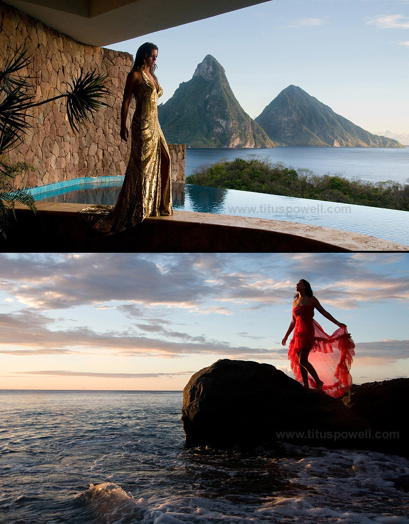 St Lucia Dec 23, 2009 Titus Powell Part of Jade Mountain series