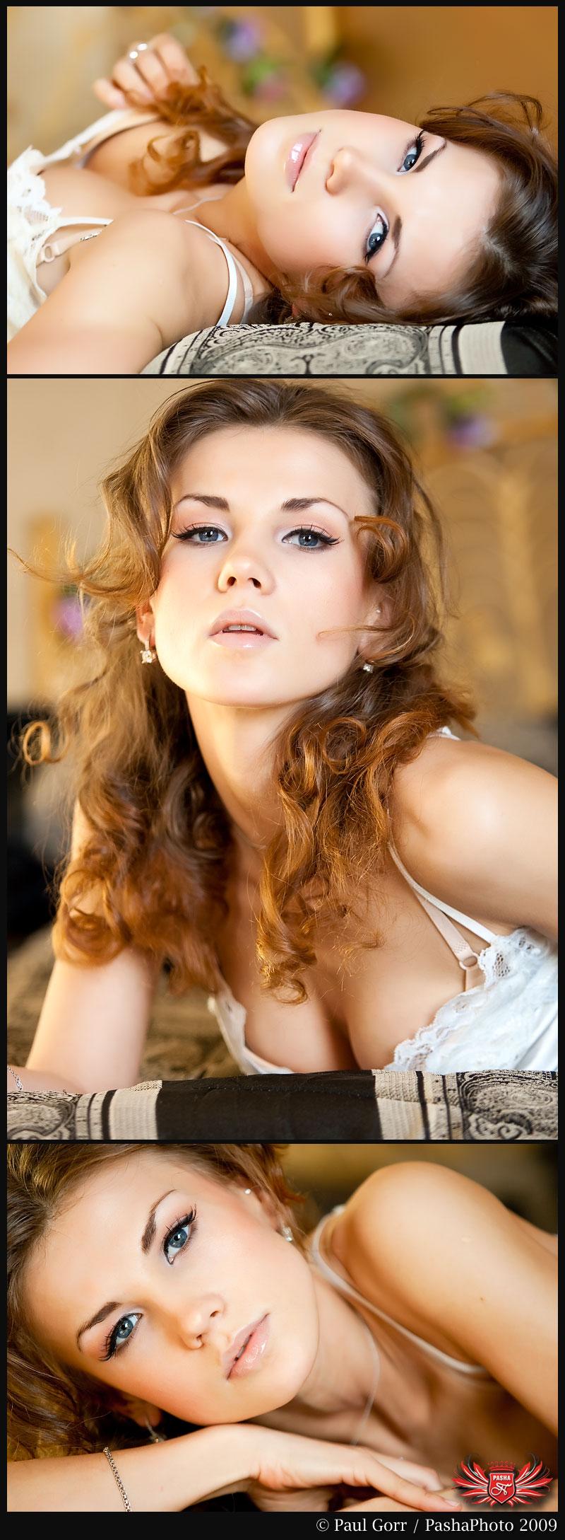 Female model photo shoot of Oksana Perun by PashaPhoto in NJ