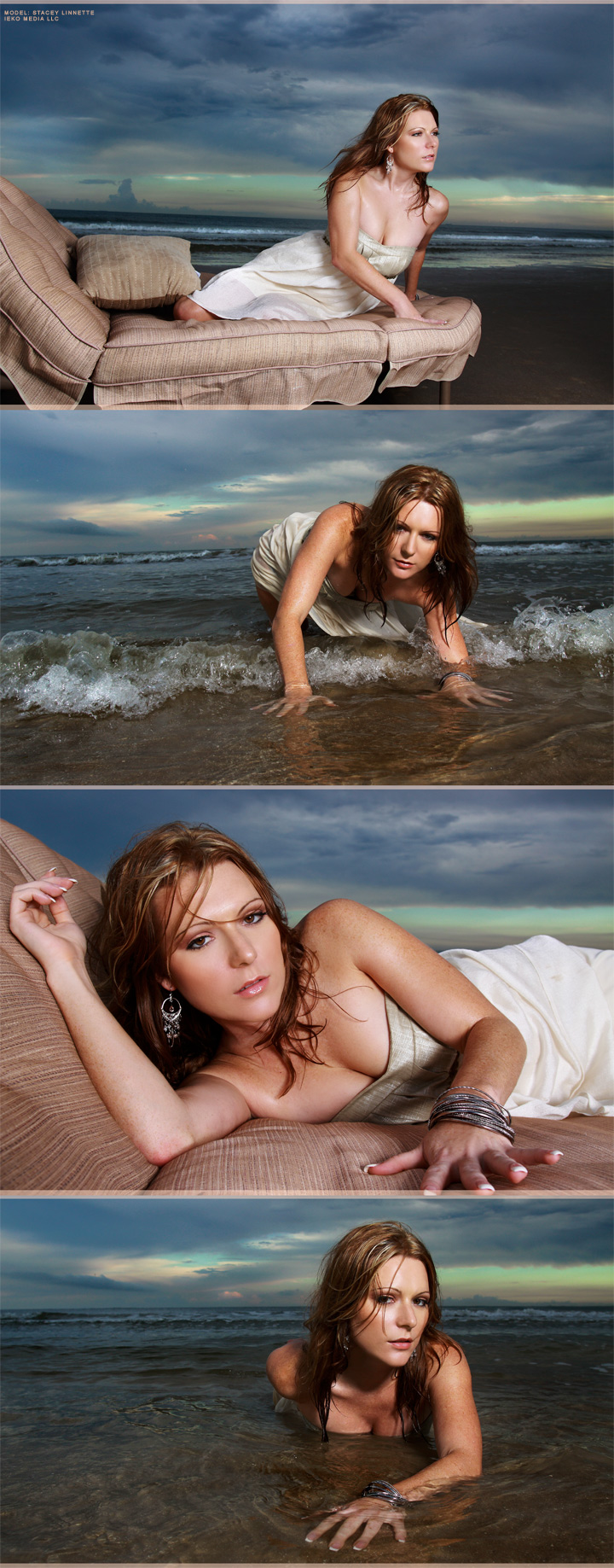 Shot in Galveston, Tx Dec 23, 2009 ©2009 IEKO MEDIA LLC Stacey Galveston Beach Shoot
