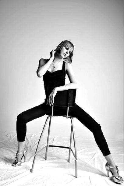 Female model photo shoot of Stone Cold Fox in Toronto, makeup by Elisa Doyon-Vachon