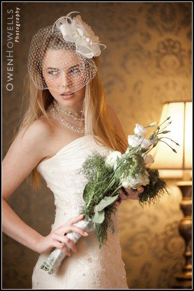 Narberth, Pembrokeshire Dec 27, 2009 white bridal shoot