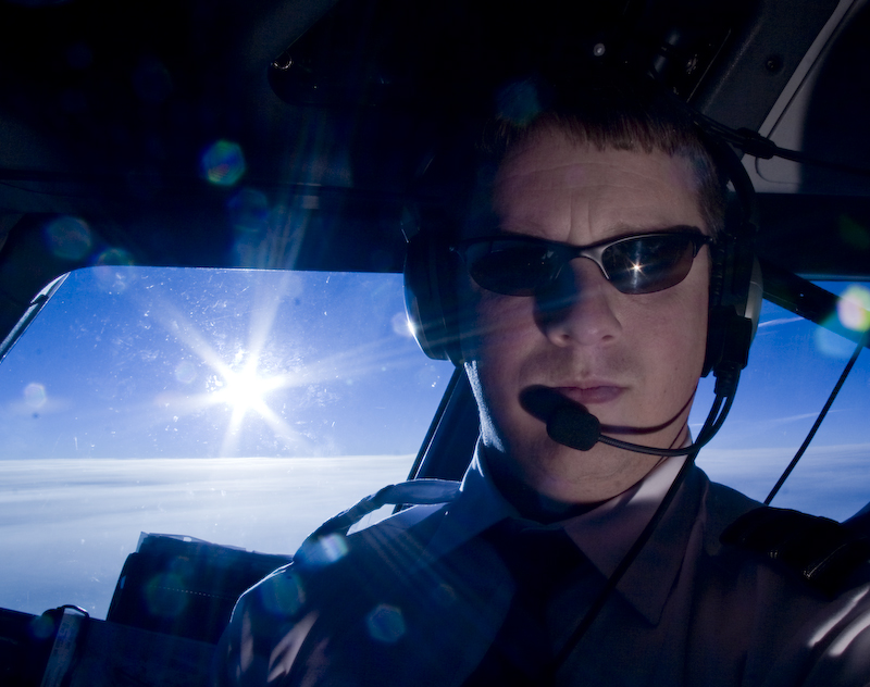 35000 feet Dec 28, 2009 Lowell Sannes Photography Self Portrait