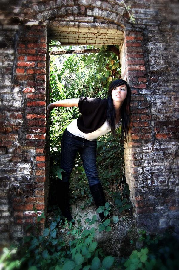 Female model photo shoot of TaraJune in Old Shasta