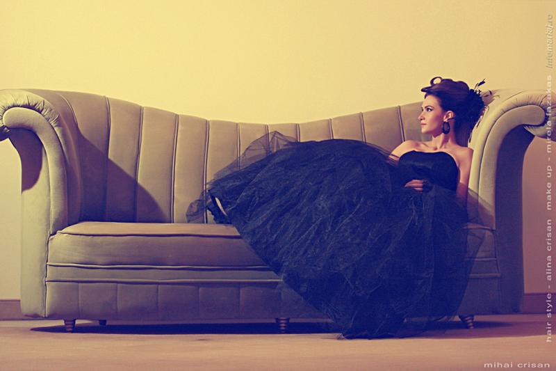 Oradea Dec 29, 2009 by mihai crisan Black Bride