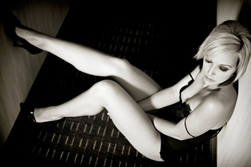 Female model photo shoot of Nikki DAoust in Calgary