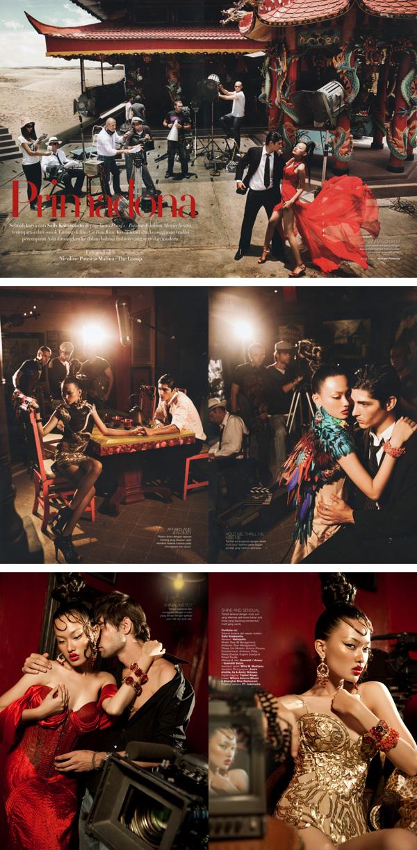 Dec 30, 2009 nicolinepatricia.com Harpers Bazaar