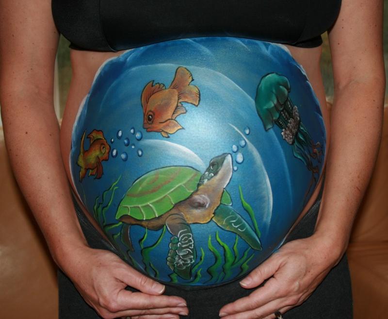 Kingston, ON Dec 30, 2009 Shelley Bellefontaine Seascape Gestational Art