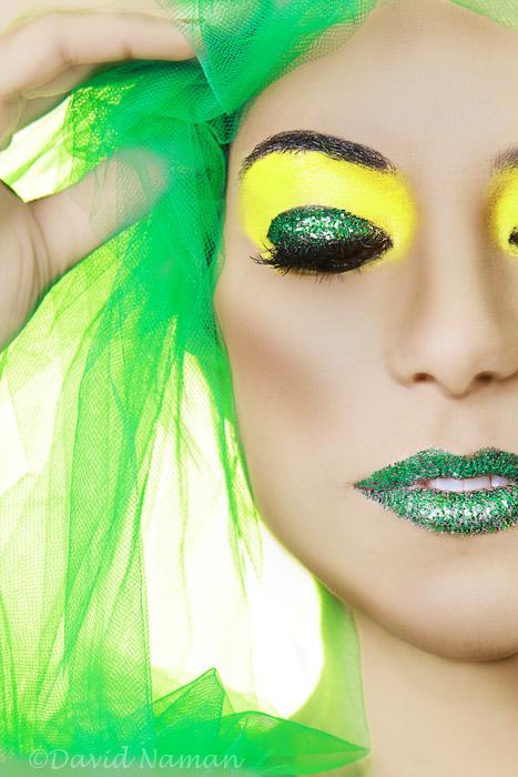 Surrey Dec 30, 2009 Mika Does Makeup / David Naman Photography Kim in GREEN!!