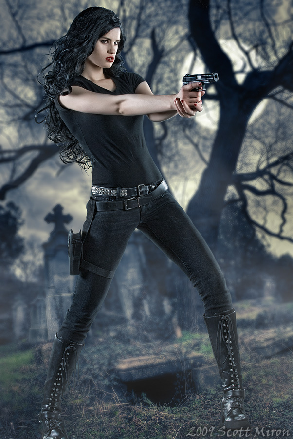 The Cemetary Dec 30, 2009 2009 Scott Miron Anita Blake:  Vampire Hunter