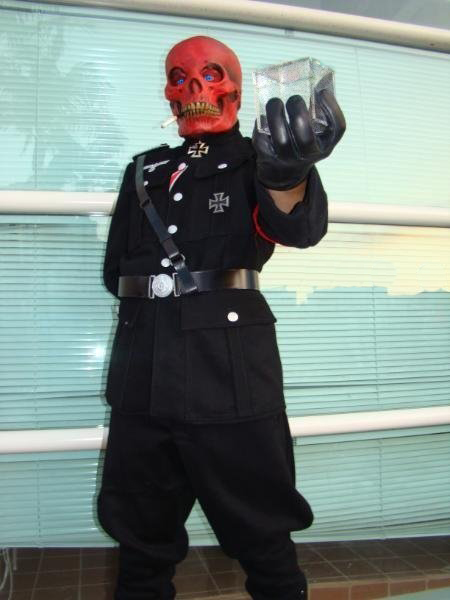 San Diego, California Dec 30, 2009 Photo by Miracole Burns The Red Skull