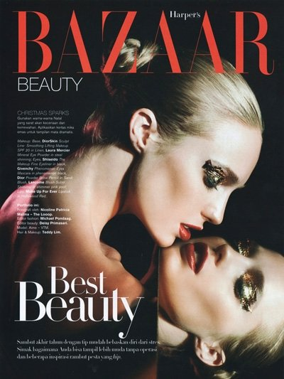 Jan 01, 2010 Bazaar Magazine  My first shoot for Bazaar :)