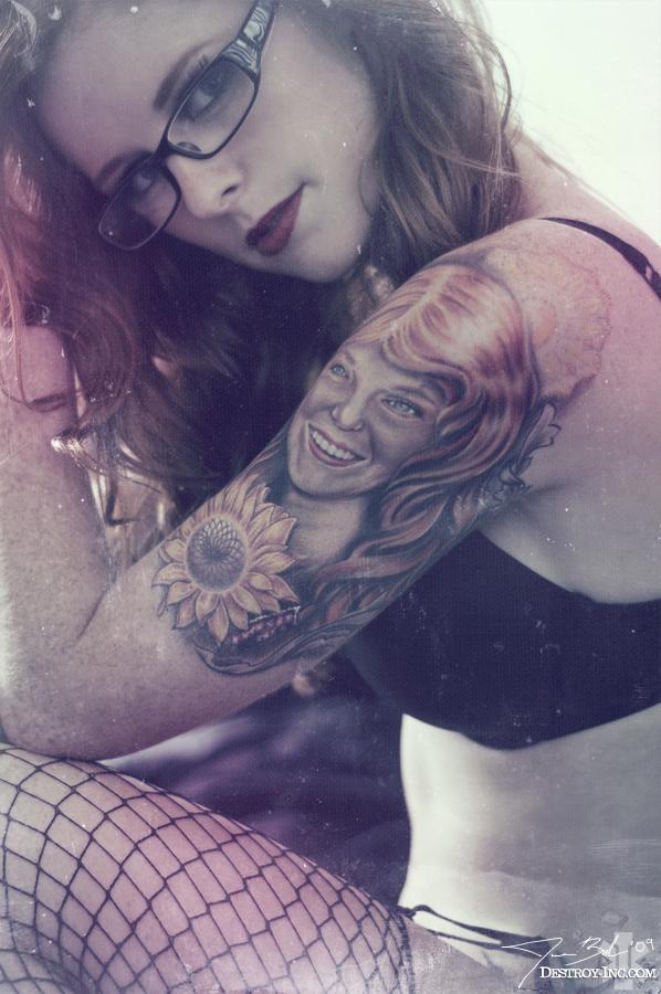 Female model photo shoot of Britt Honey by Destroy Inc in Pleasanton, CA