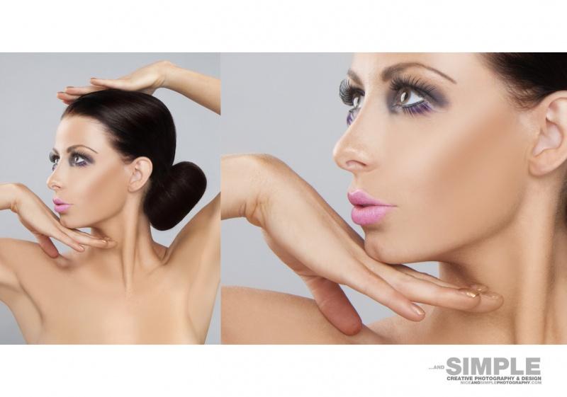 Female model photo shoot of KirstyCorner by niceandsimple, makeup by kaya art