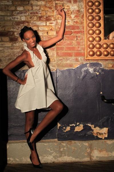 Female model photo shoot of Model Burnett