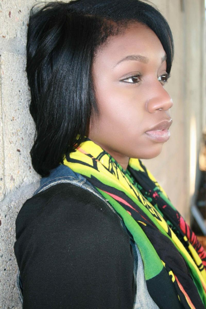 Female model photo shoot of Oge in Brooklyn (Industrial Area)