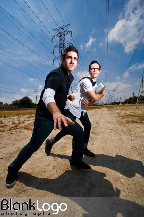 Los Angeles, CA Jan 08, 2010 BlankLogo Photography The Rad Nerds